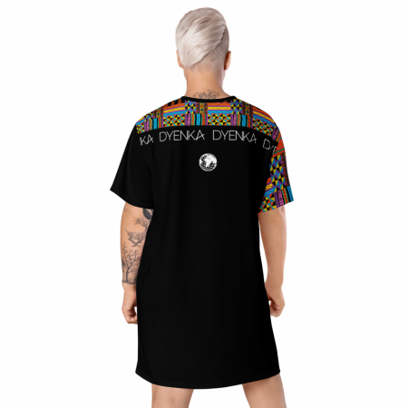Robe T-shirt wax African Color